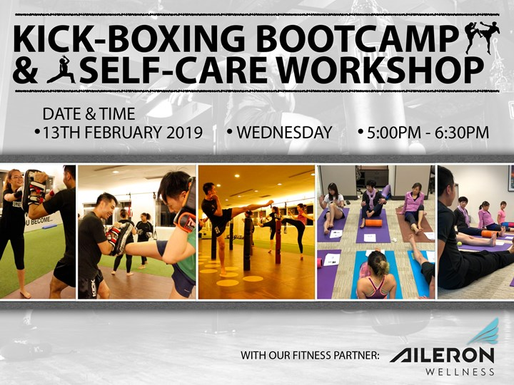 Kickboxing Boot Camp & Self Care Exercises
